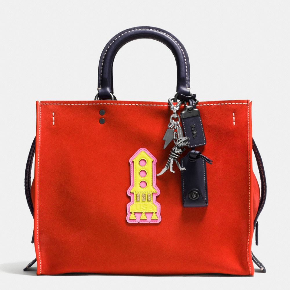 Rocket Rogue Bag in Suede - Alternate View A1