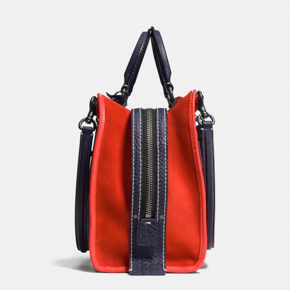 Rocket Rogue Bag in Suede - Alternate View A2