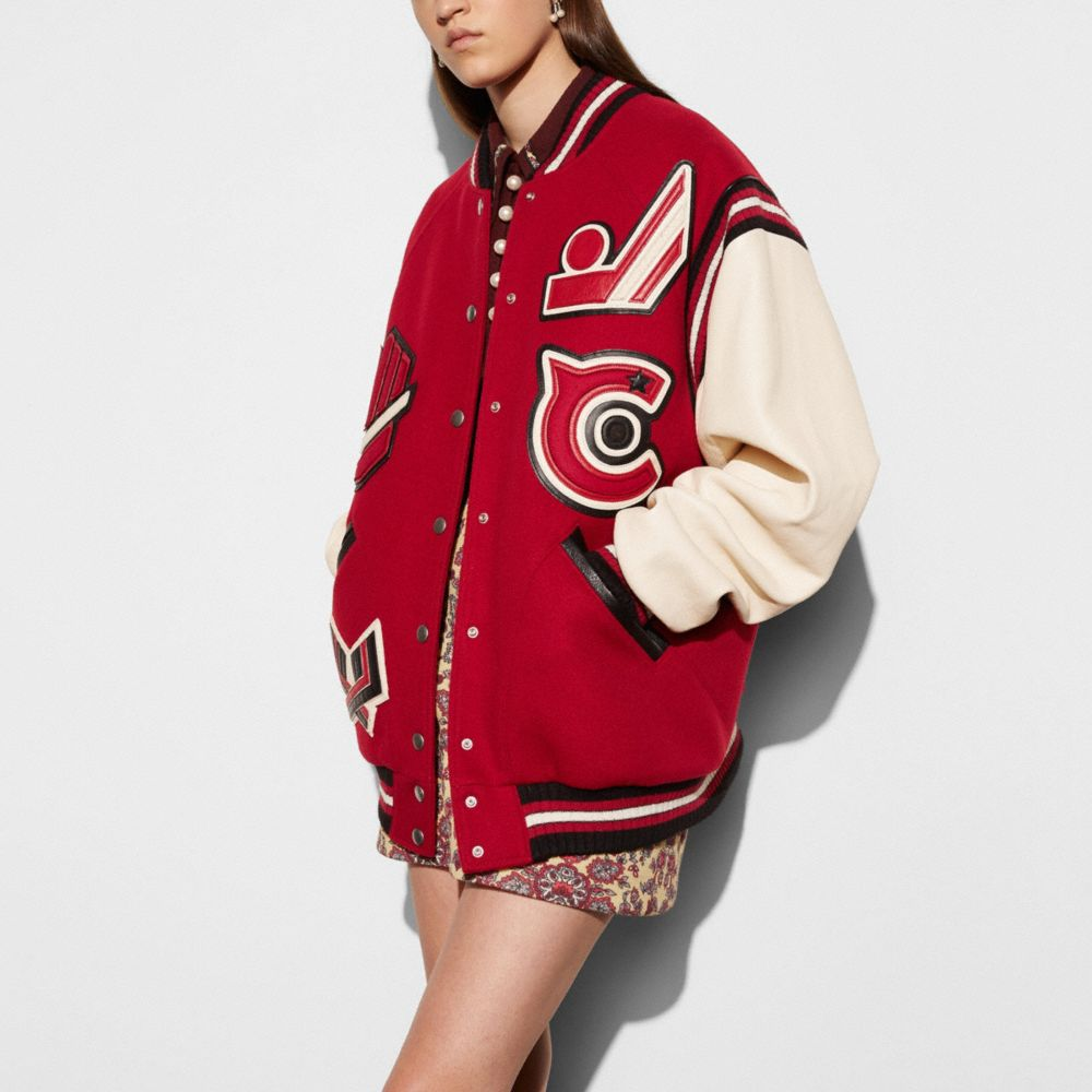 Coach Oversized Varsity Jacket