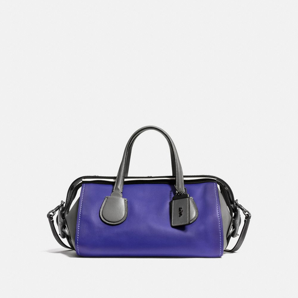 Badlands Satchel in Colorblock Leather