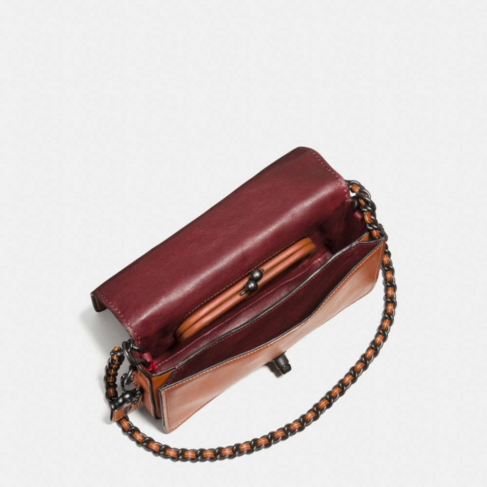Western Rivets Dinky Crossbody in Glovetanned Leather - Alternate View A2