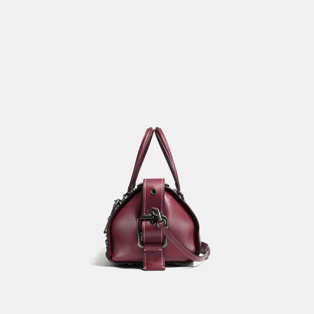 Coach Badlands Satchel With Western Rivets Alternate View 1