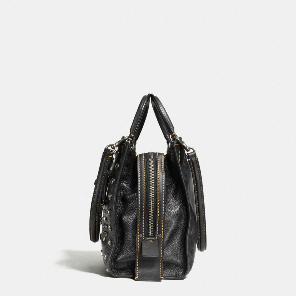Coach Western Rivets Rogue Bag in Pebble Leather Alternate View 1