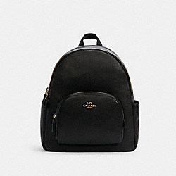 COURT BACKPACK - IM/BLACK - COACH 5666