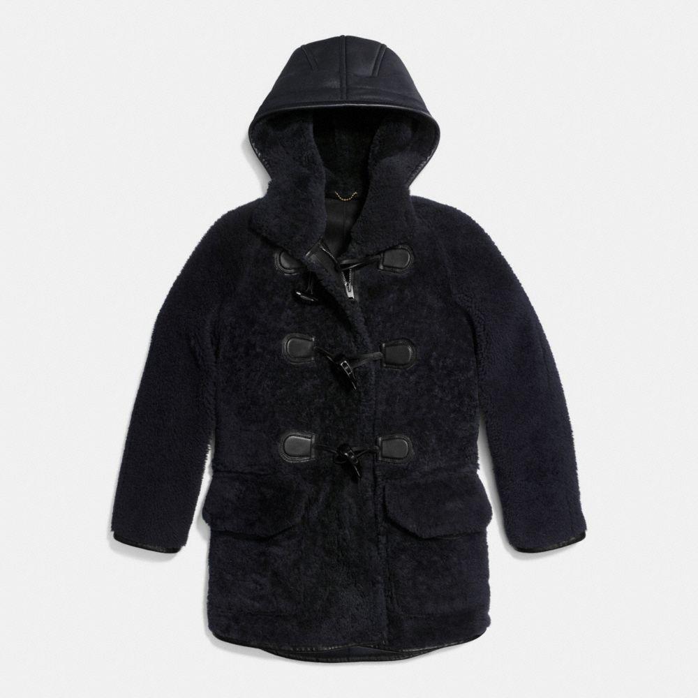 Shearling Duffle Coat - Alternar vistas A1