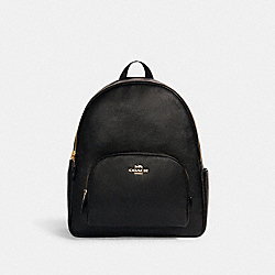 LARGE COURT BACKPACK - IM/BLACK - COACH 5669