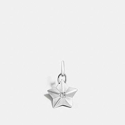 FACETED STAR CHARM
