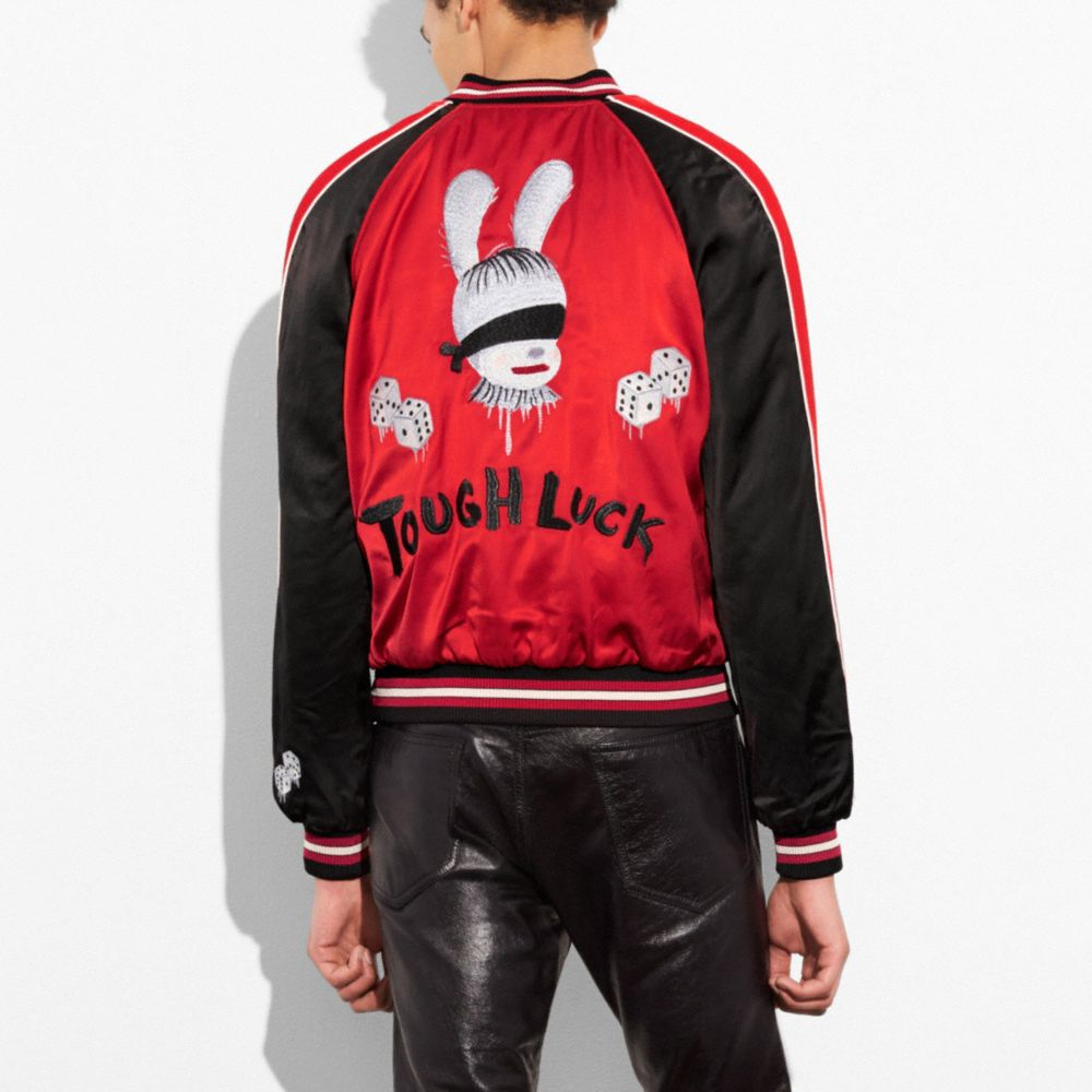 Reversible Tough Luck Souvenir Jacket - Alternate View M2