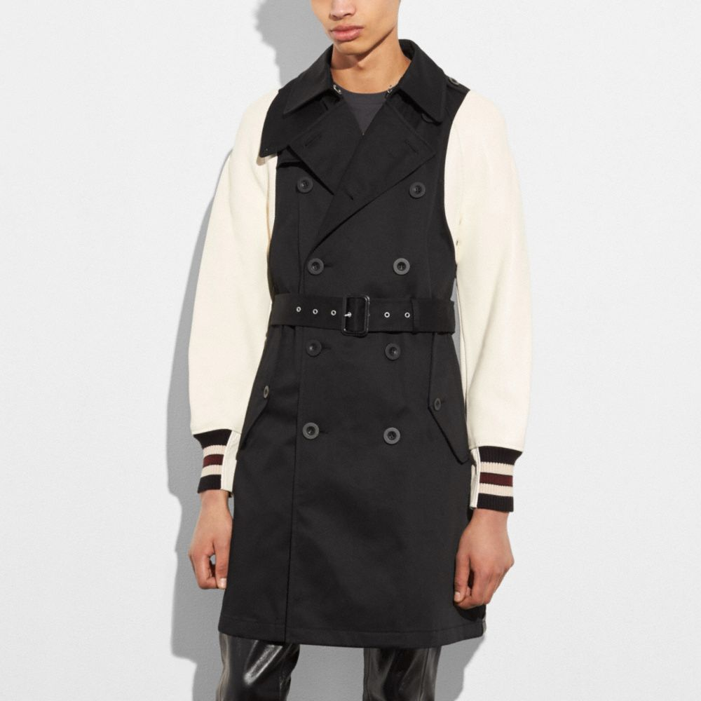 Varsity Trench Jacket