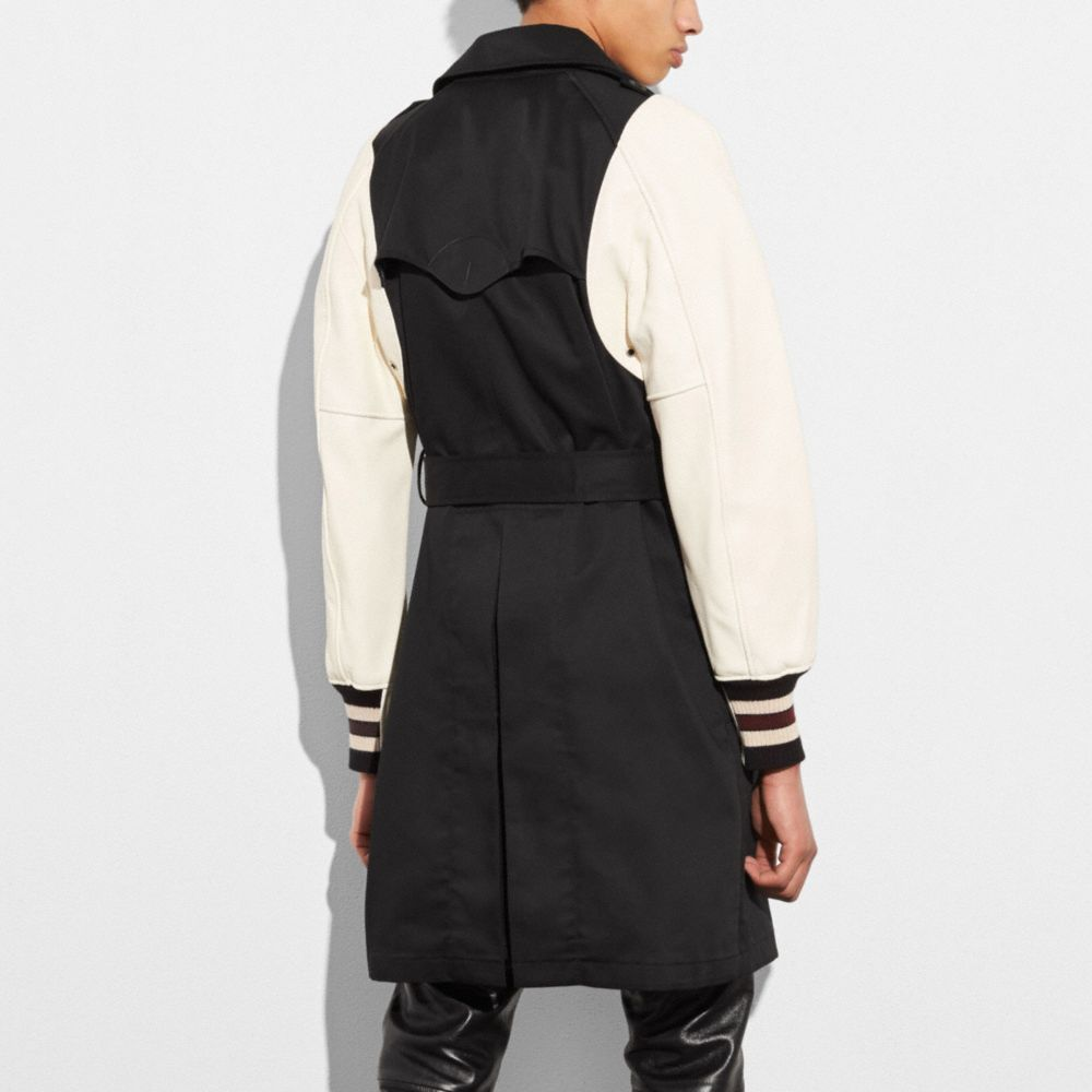 Coach Varsity Trench Jacket Alternate View 2