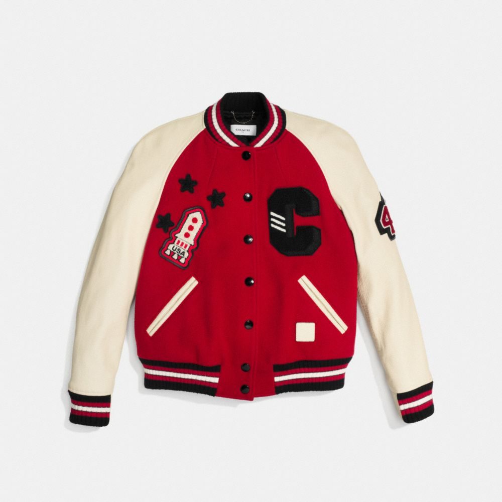 Classic Varsity Jacket - Alternate View A1
