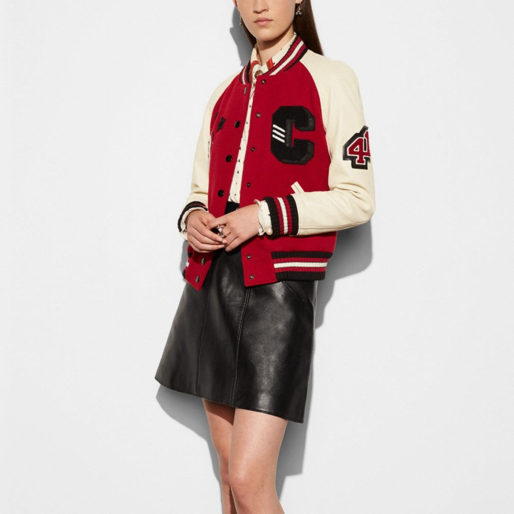 Classic Varsity Jacket - Alternate View M1