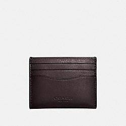 CARD CASE - CHESTNUT - COACH 57101