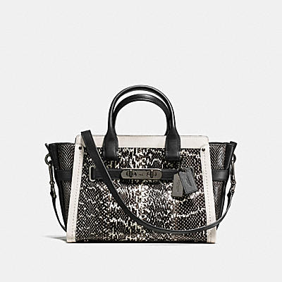 COACH SWAGGER 27 IN SNAKE