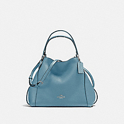 EDIE SHOULDER BAG 28 - SV/SLATE - COACH 57124