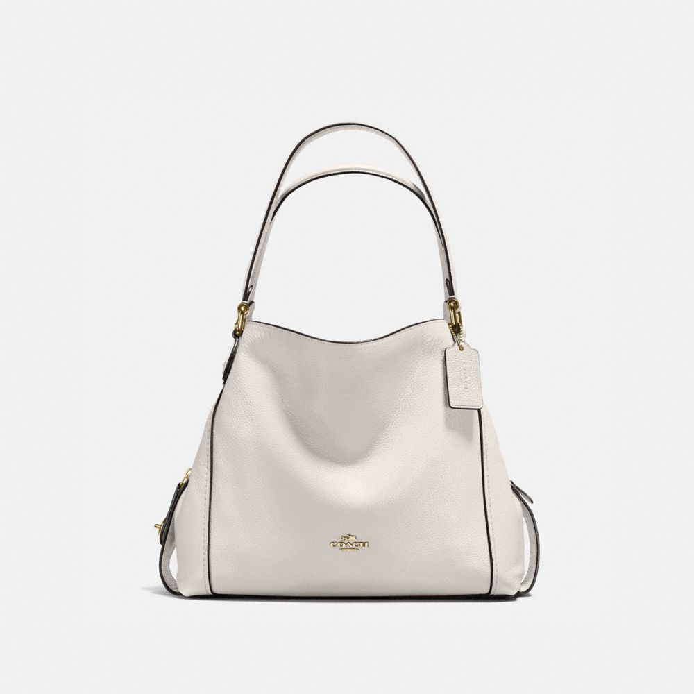 EDIE SHOULDER BAG 31 IN POLISHED PEBBLE LEATHER - Alternate View