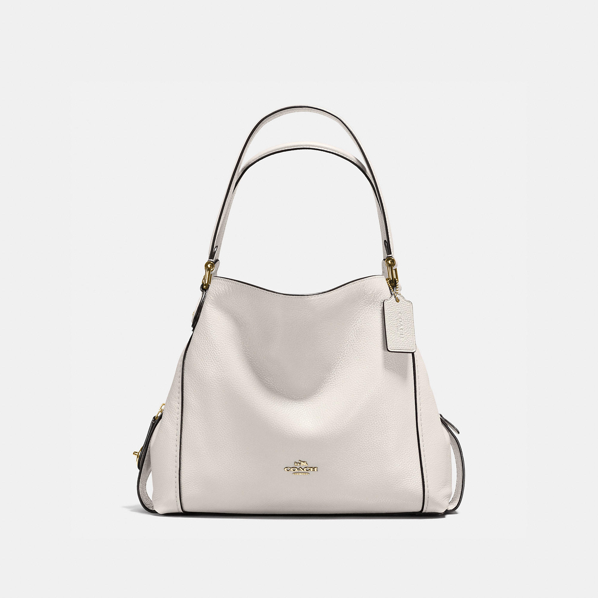 Coach Edie Shoulder Bag 31 In Polished Pebble Leather