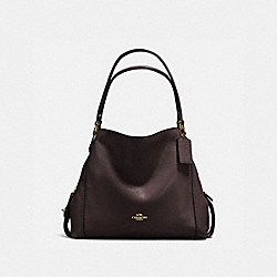 EDIE SHOULDER BAG 31 - LI/CHESTNUT - COACH 57125