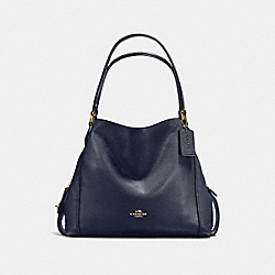 EDIE SHOULDER BAG 31 - LI/NAVY - COACH 57125