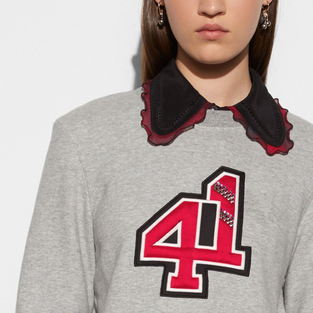 Coach Embellished 41 Sweatshirt