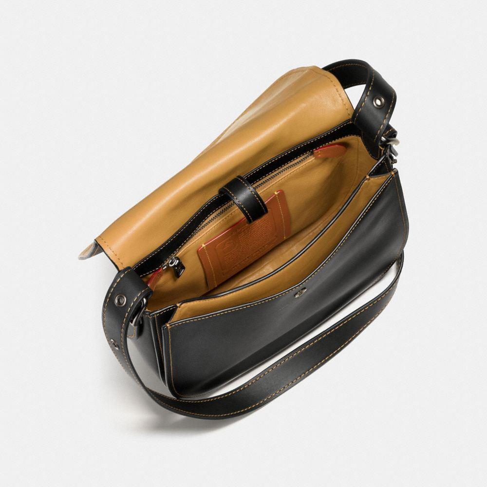 Saddle Bag in Glovetanned Leather - Alternate View A2