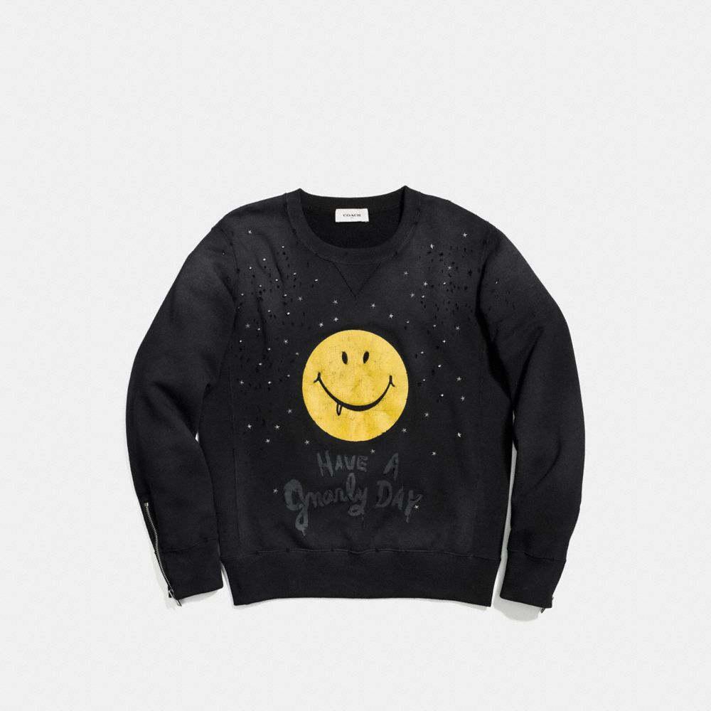 Gnarly Face Sweatshirt - Alternate View A1