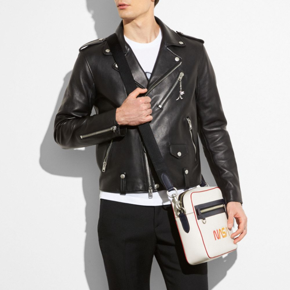 Leather Moto Jacket - Alternate View M3