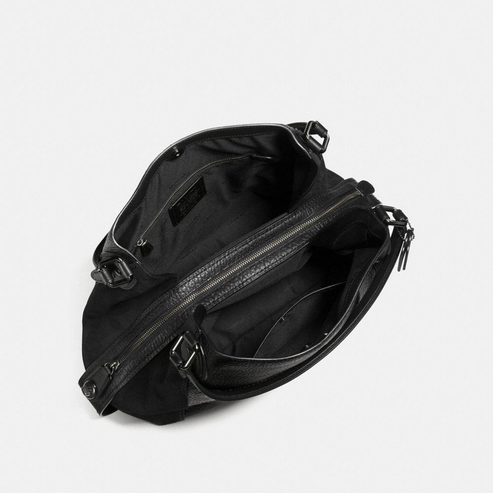 EDIE SHOULDER BAG 42 IN MIXED LEATHERS - Alternate View