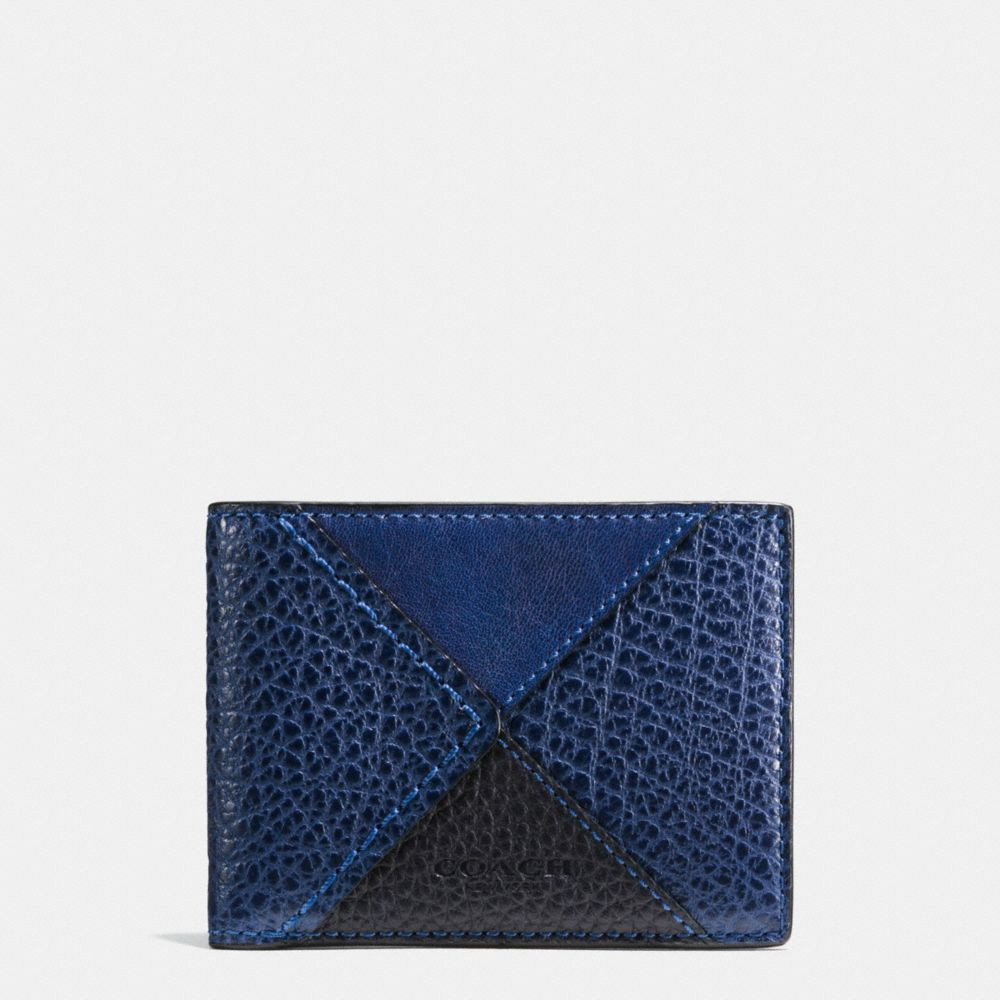 Coach Slim Billfold Wallet in Canyon Quilt Leather