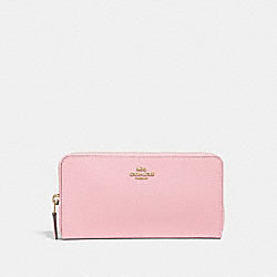 ACCORDION ZIP WALLET - GD/BLOSSOM - COACH 57713