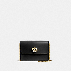 BOWERY CROSSBODY - BLACK/LIGHT GOLD - COACH 57714