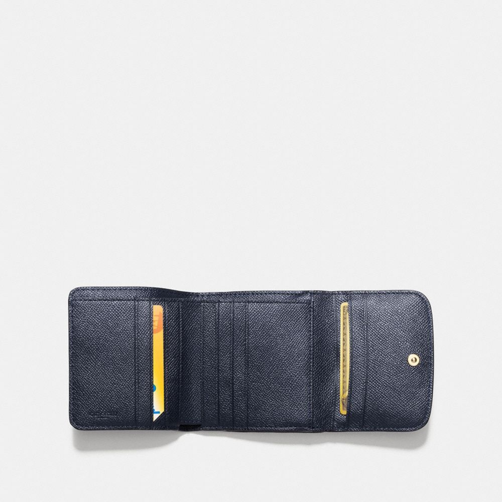 SMALL WALLET IN CROSSGRAIN LEATHER - Alternate View