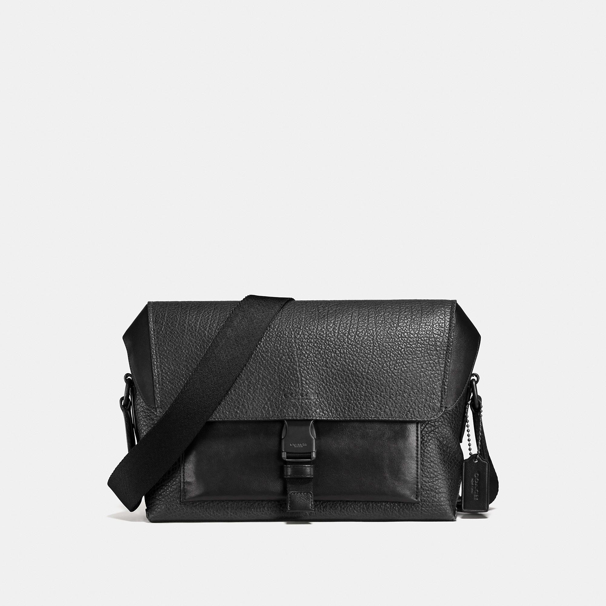 Coach Manhattan Bike Bag In Mixed Leather