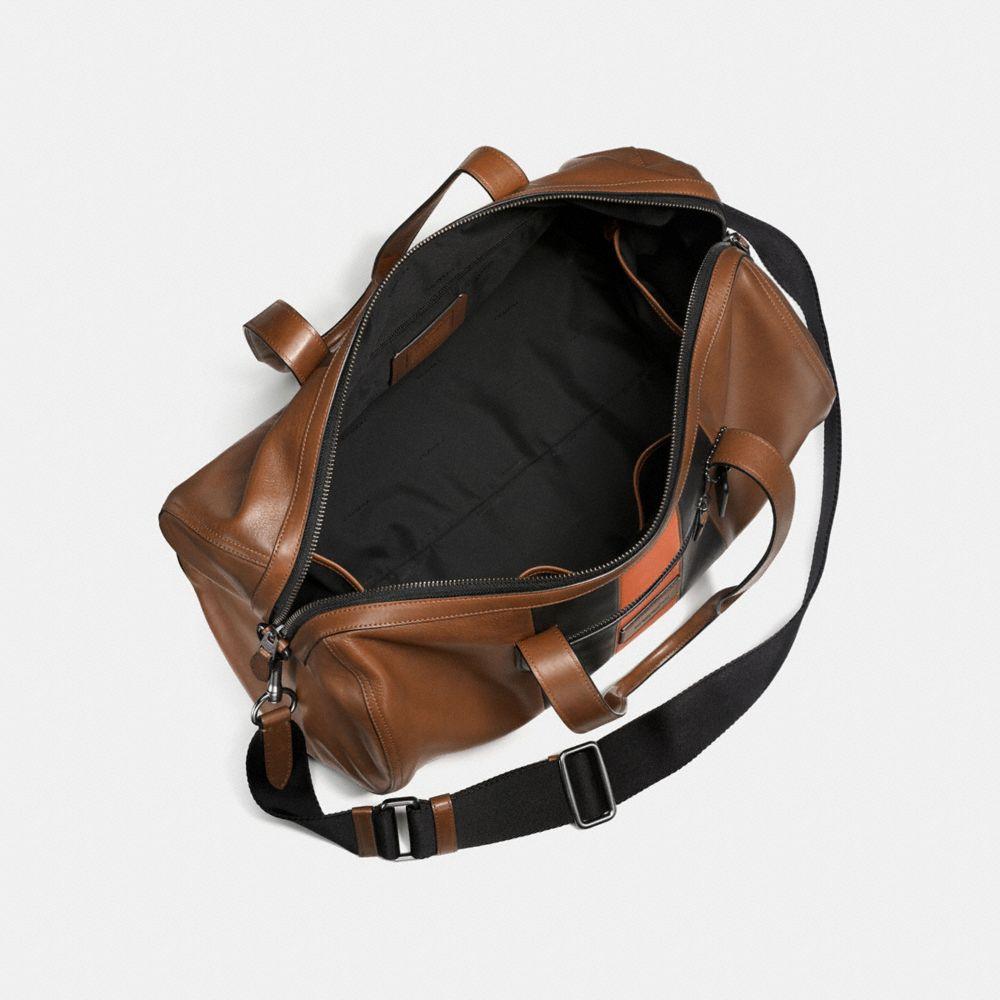 Coach Metropolitan Soft Gym Bag With Varsity Stripe Alternate View 2