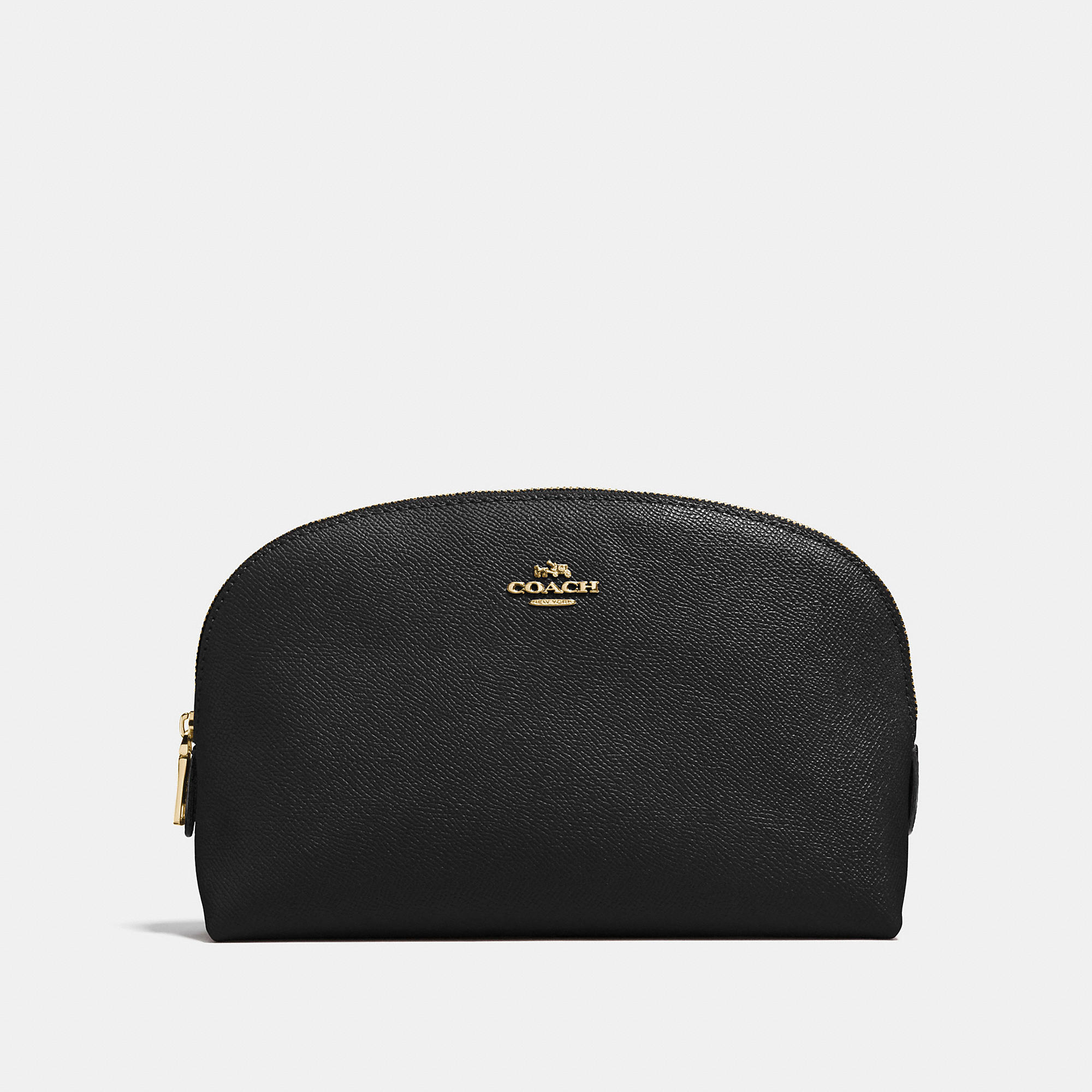 Coach Cosmetic Case 22 In Crossgrain Leather