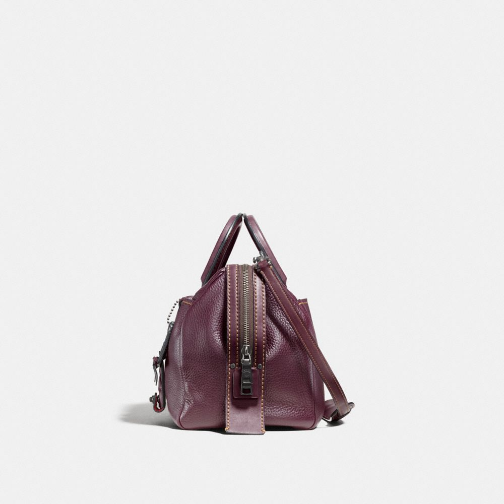 Coach Rogue Satchel in Glovetanned Pebble Leather Alternate View 1