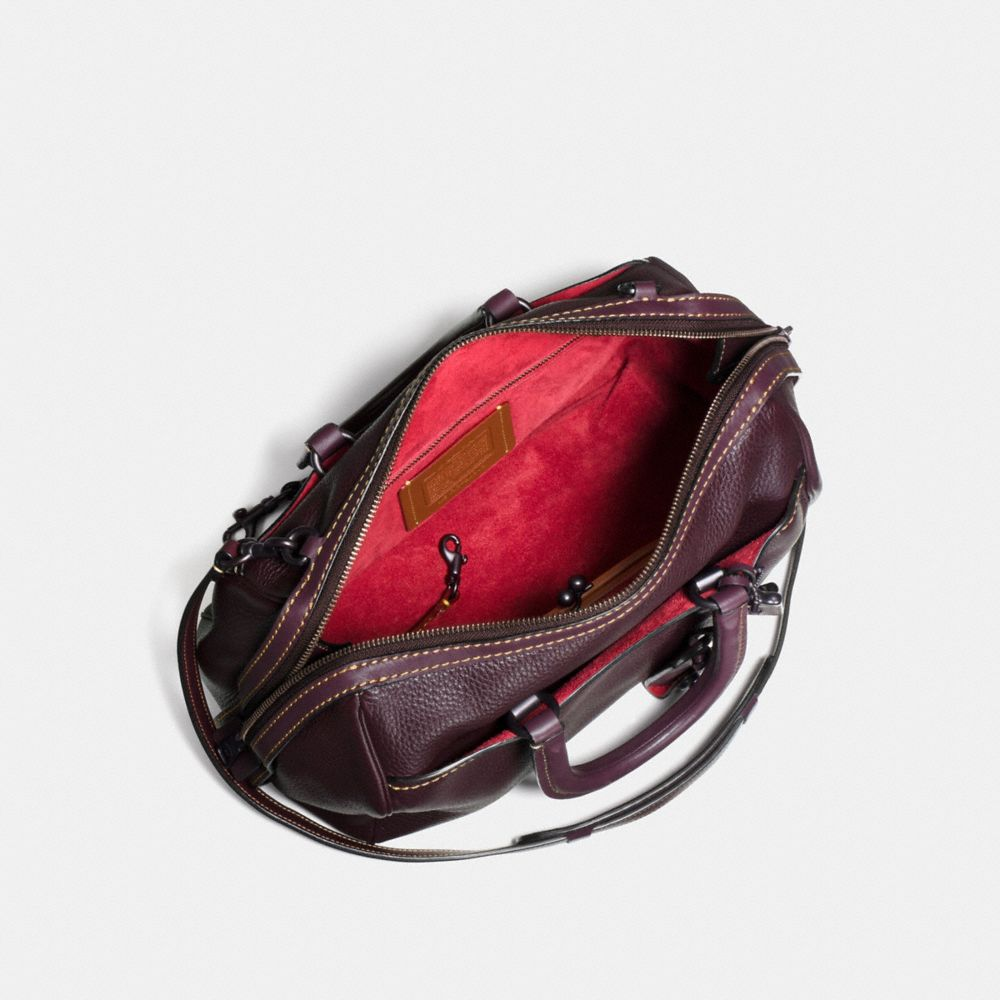 Coach Rogue Satchel in Glovetanned Pebble Leather Alternate View 2