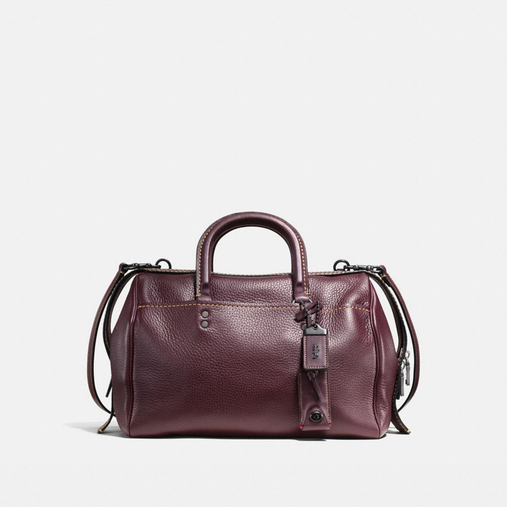 ROGUE SATCHEL IN GLOVETANNED PEBBLE LEATHER - Alternate View