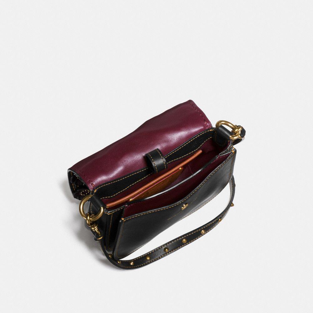 Saddle Bag 17 With Tea Rose Applique - Alternate View A2