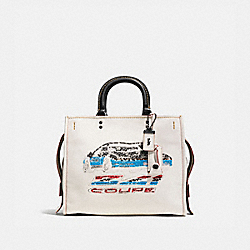 ROGUE WITH CAR - BP/CHALK - COACH 58151