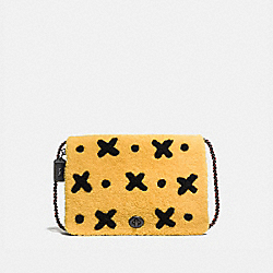 FELIX BAG OF TRICKS DINKY 32 - YELLOW/BLACK COPPER - COACH 58153