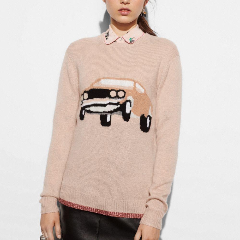 Coach Car Sweater