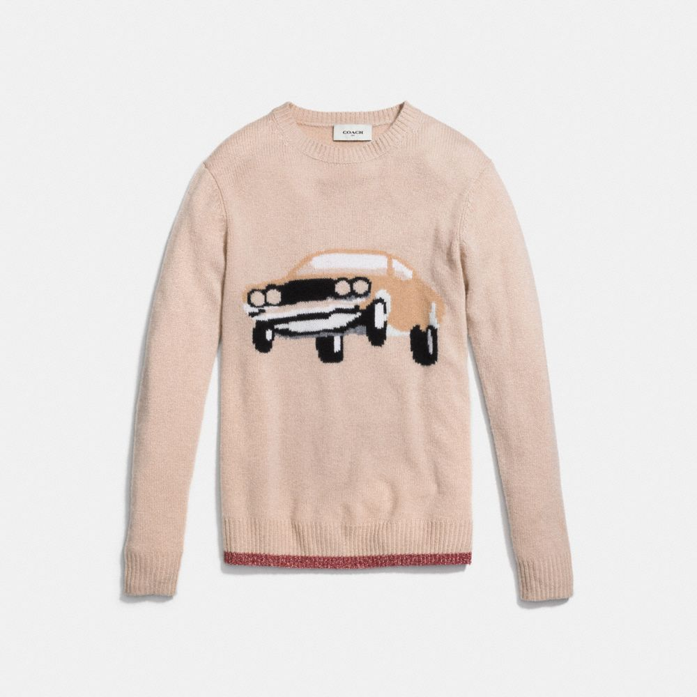 Coach Car Sweater Alternate View 1
