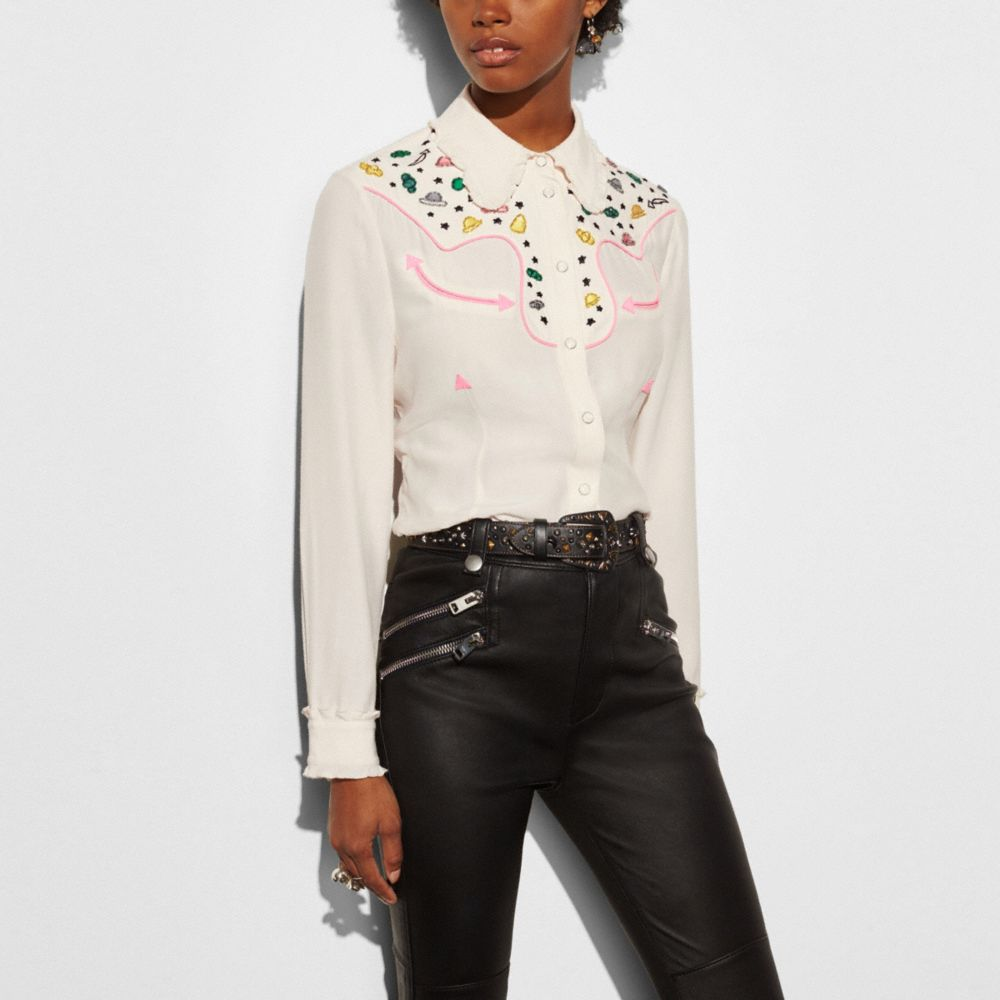 Western Shirt With Embellishment