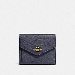 SMALL WALLET - GD/INK - COACH 58298