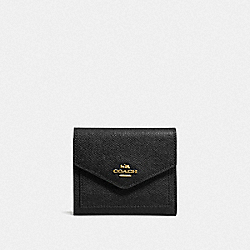 BOXED SMALL WALLET - GD/BLACK - COACH 58298B