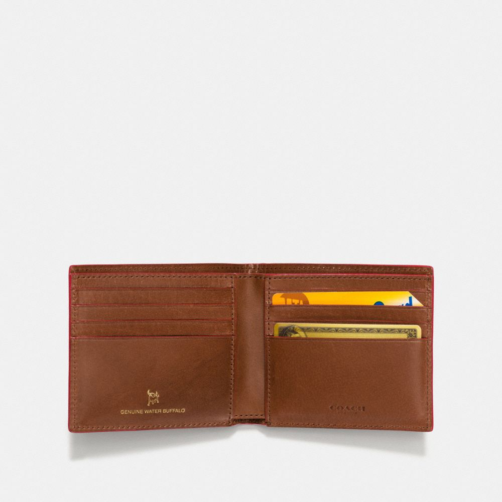 Coach Double Billfold Wallet Alternate View 1