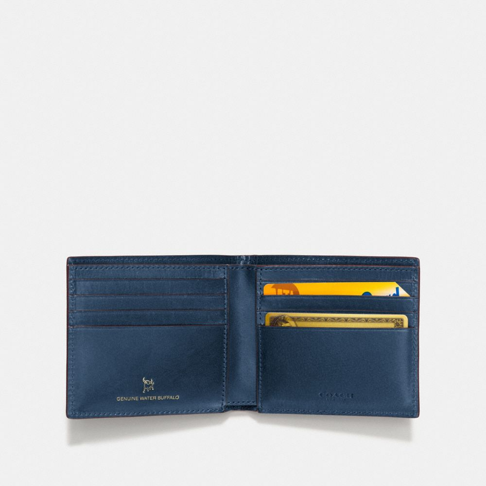 Coach Boxed Double Billfold Wallet Alternate View 1