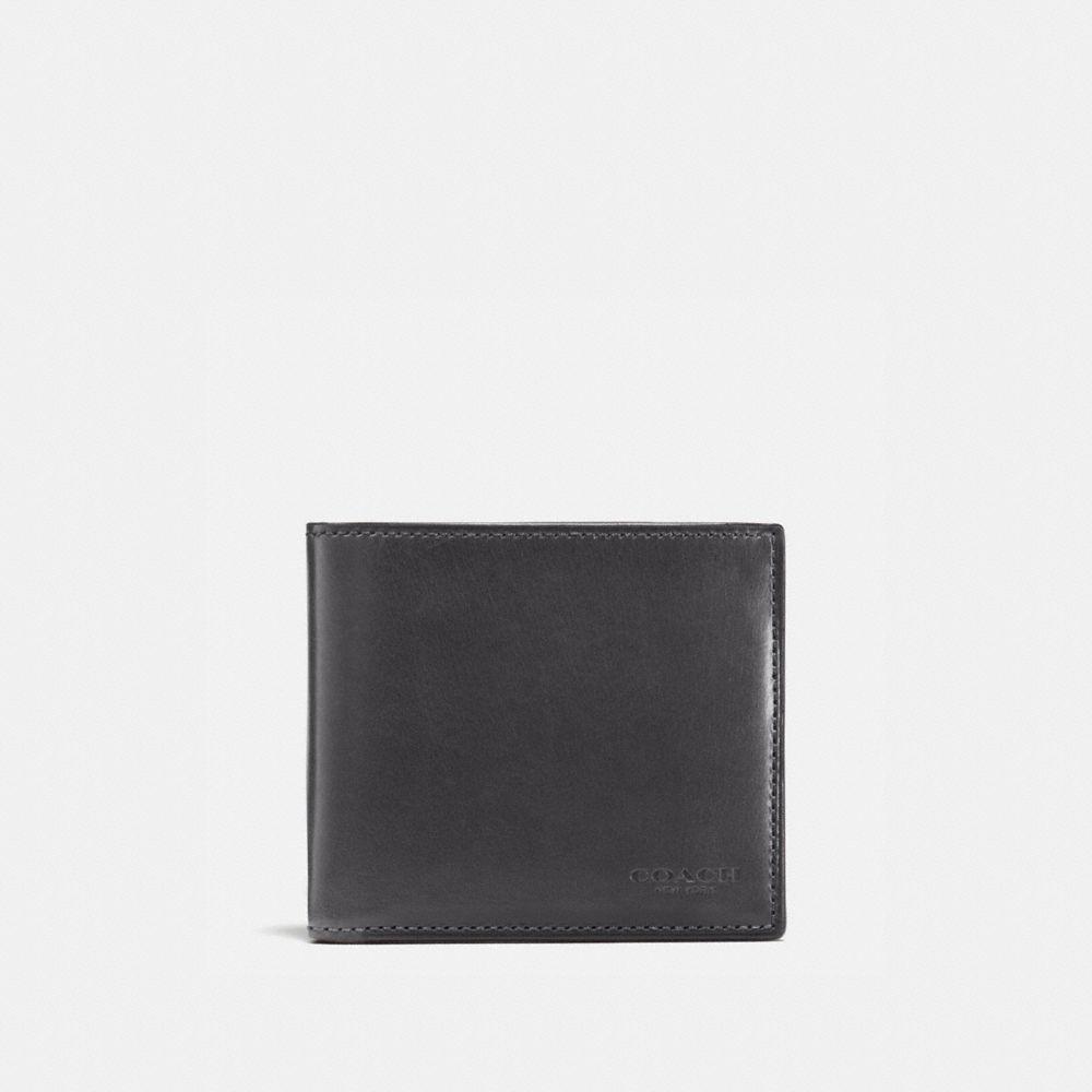 Coach Boxed Double Billfold Wallet