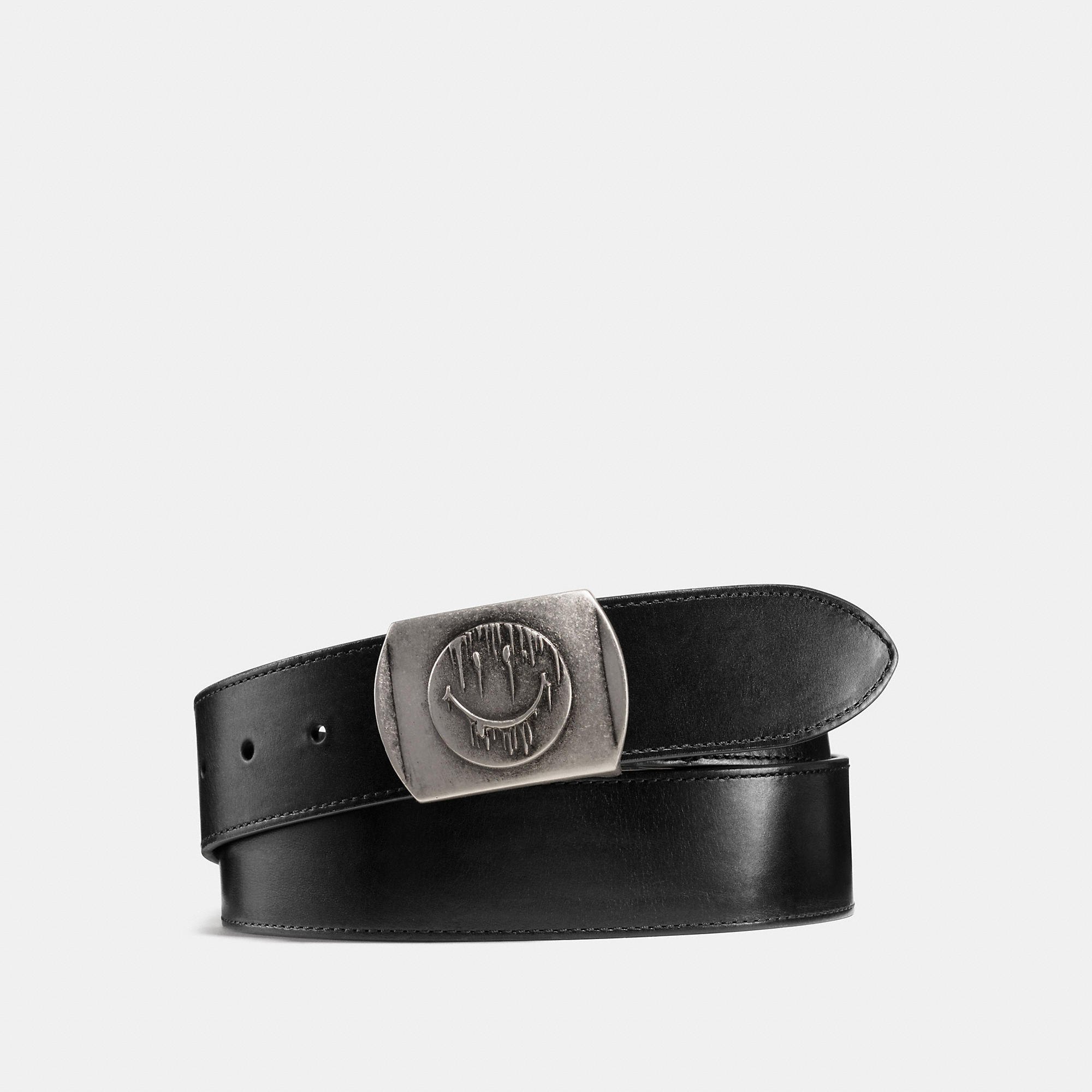 Coach Gnarly Face Military Cut-to-size Belt